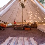 Hunza Glamping Tent Inside View