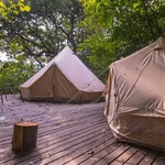 Hunza Family Glamping Tents Patio