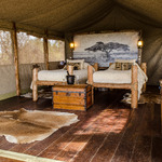 Tented Cottage Longido Twin Room