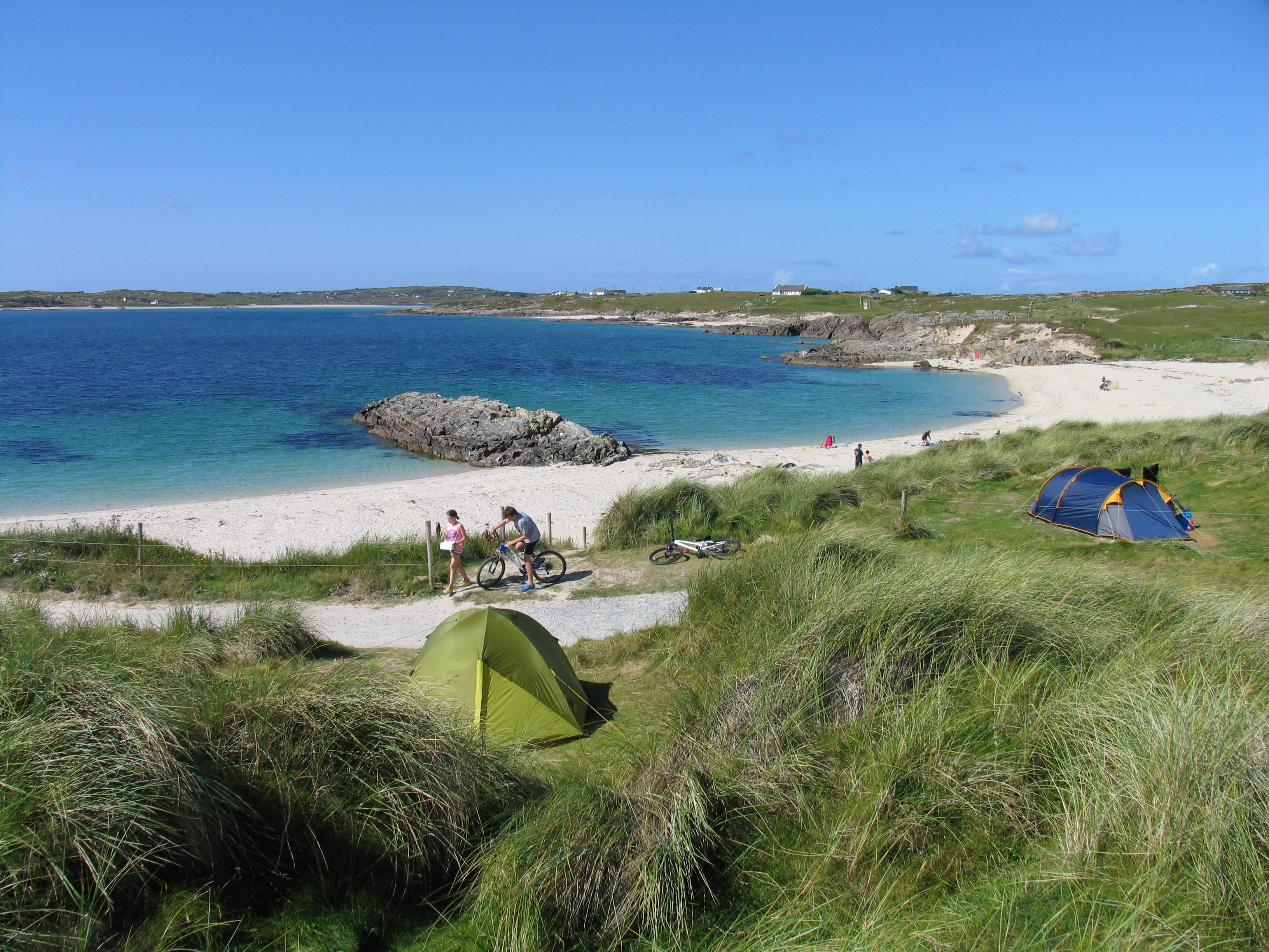 Clifden Beach Pitch