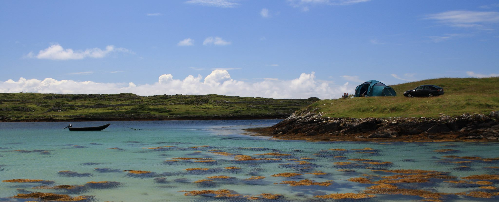 Clifden Beach Camp Pitch