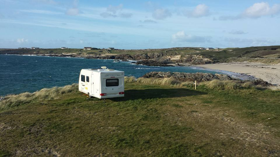 Clifden Beach Caravan Pitch