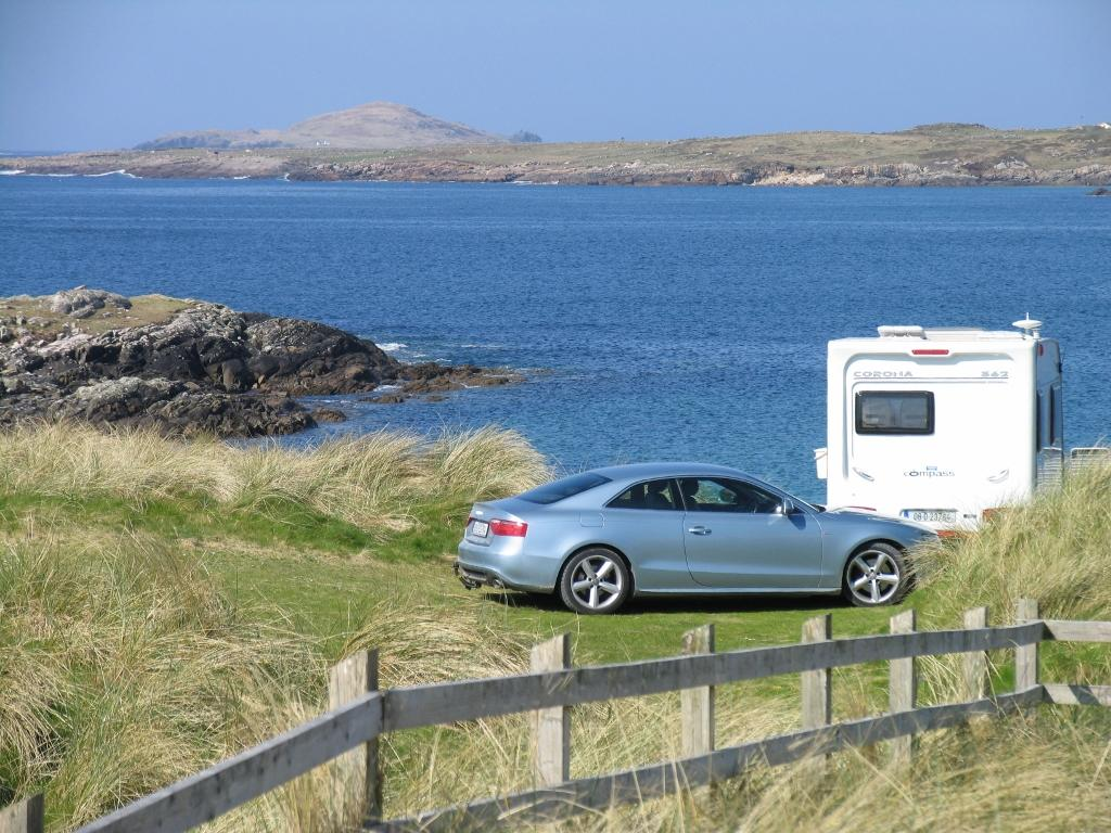 Clifden Beach Caravan Pitch Double