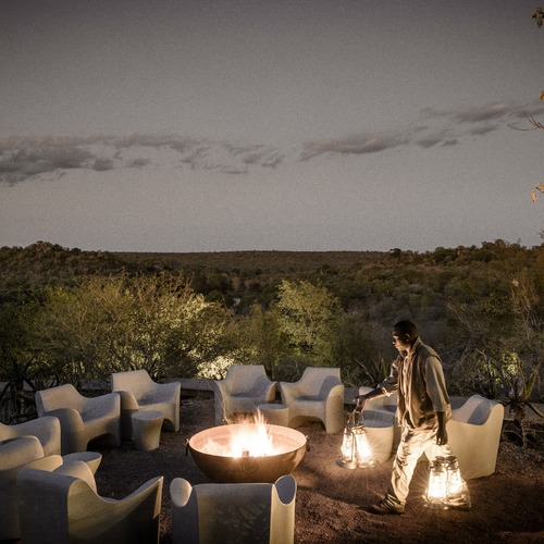 Singita Lebombo Lodge Camp Fire