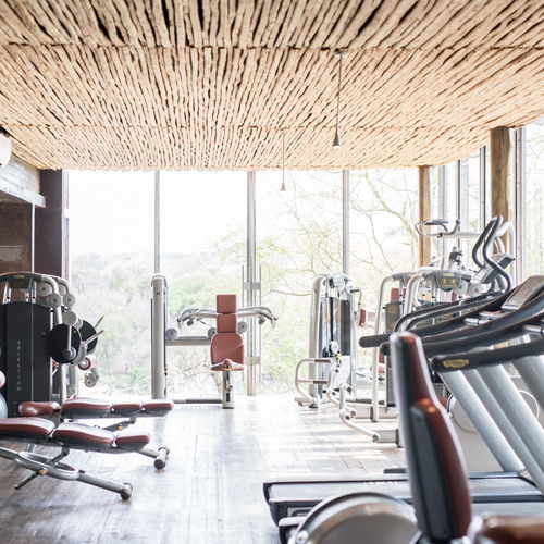 Singita Lebombo Lodge Gym