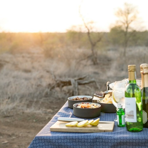 Singita Lebombo Lodge Sunset Drinks
