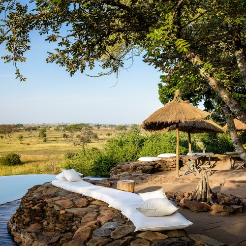 Singita Faru Faru Lodge Pool & Sun Lounger