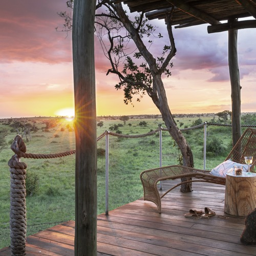 Singita Faru Faru Lodge Deck