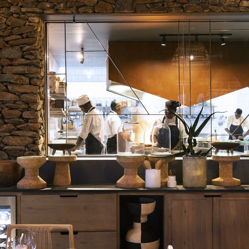 Singita Faru Faru Lodge Interactive Kitchen