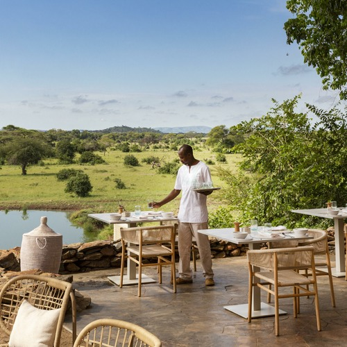 Singita Faru Faru Lodge Riverside Dining