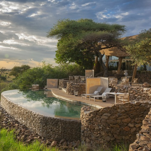 Singita Faru Faru Lodge 2 Bedroom Suite Pool & Decking