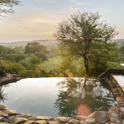 Singita Faru Faru Lodge Pool Views