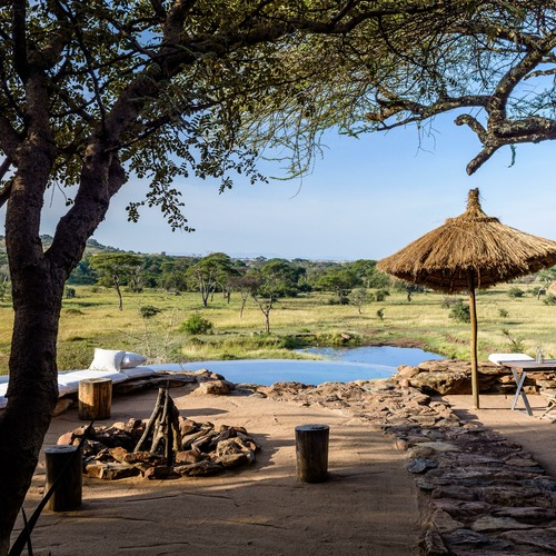 Singita Faru Faru Lodge River Beach