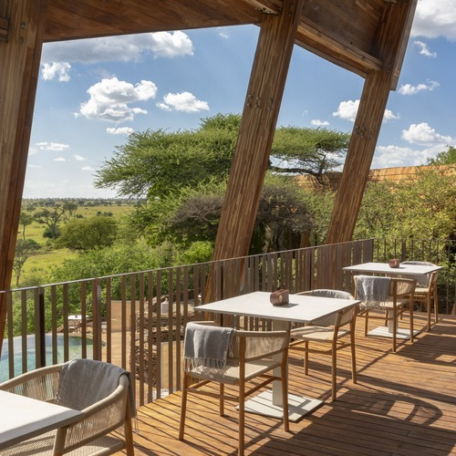 Singita Faru Faru Lodge Decking Views