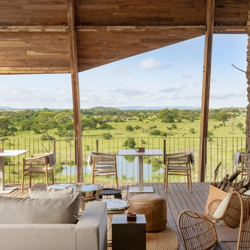 Singita Faru Faru Lodge Lounge & Deck