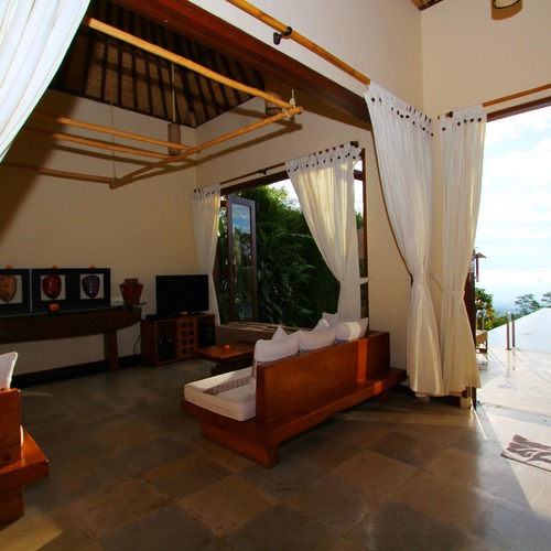 Two Bed Pool Villa Lounge and Private PoolMunduk Moding Plantation
