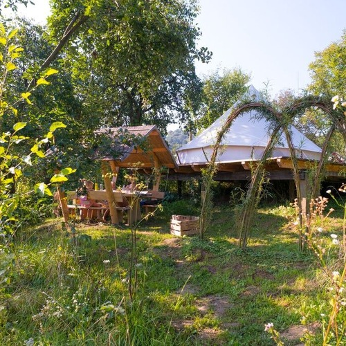 Hunza Ecolodge Glamping Tent Gardens