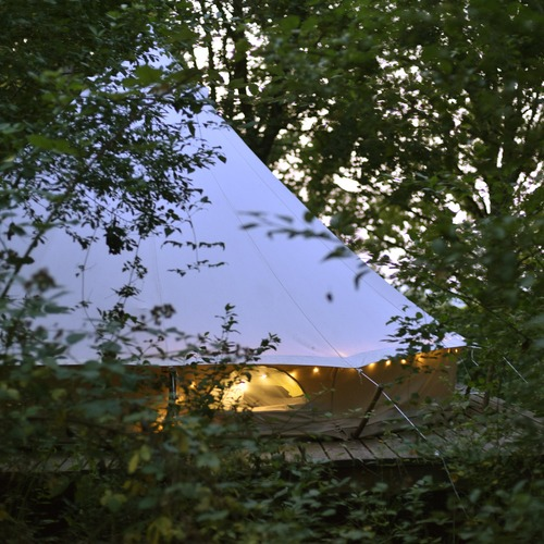 Hunza Ecolodge Glamping Tent in the Trees