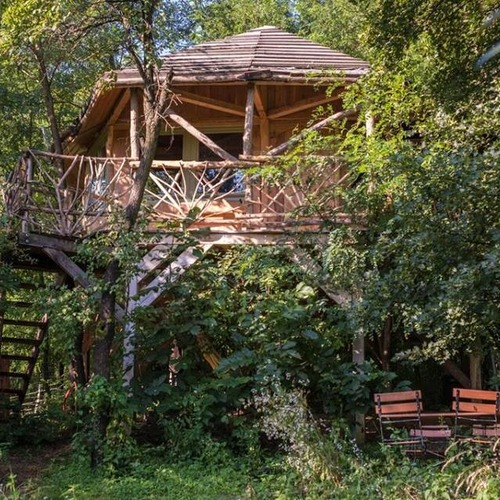 Treehouse at Hunza Ecolodge