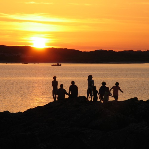 Clifden Eco Beach Sunset