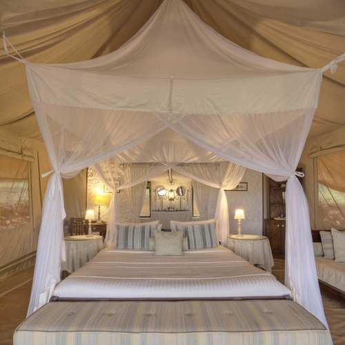 Cottars Family Tent Double Room