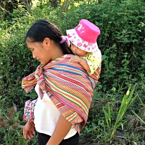 FIMRC Peruvian Woman and baby