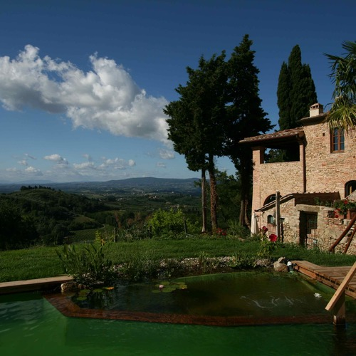 il Paluffo Manor House Bio Swimming Pool