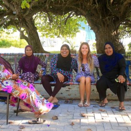 Secret Paradise Maldives Making Friends in the community