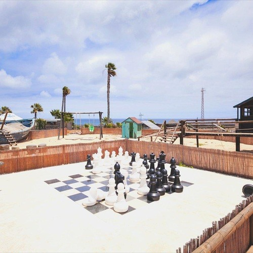Lanzarote Retreats Communal Play Area
