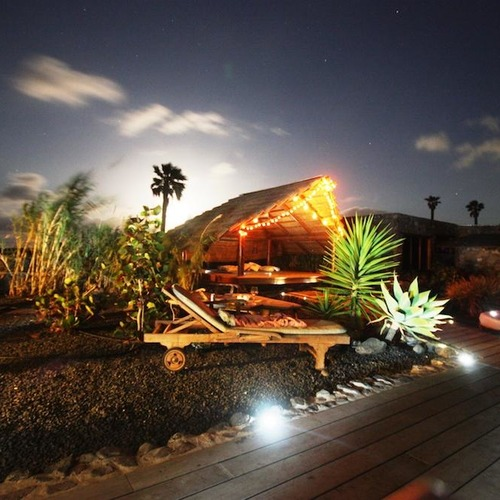 Lanzarote Retreats At Night