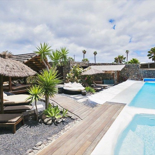 Lanzarote Retreats Communal Pool and Loungers