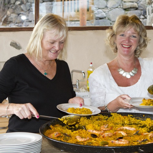 Lanzarote Retreats Weekly Paella
