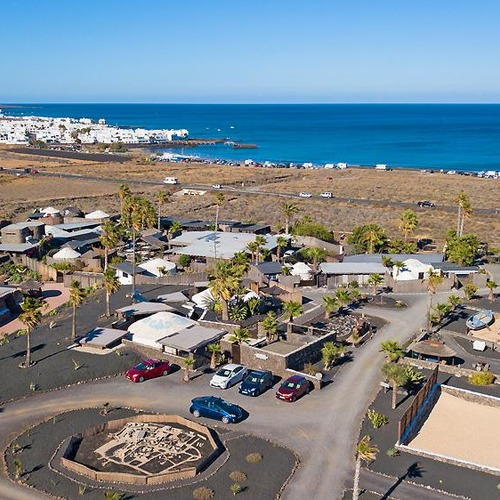 Lanzarote Retreats Aerial View
