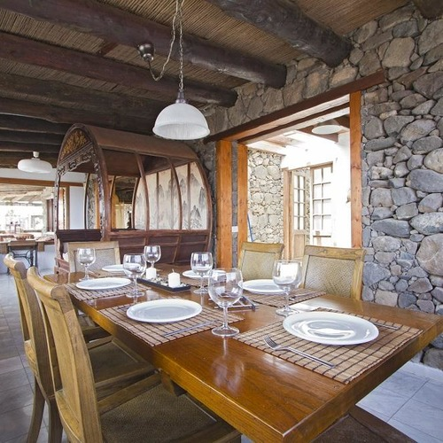 Lanzarote Retreats Luxury Farmhouse Dining