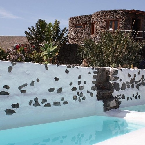 Lanzarote Retreats Eco Tower and Communal Pool