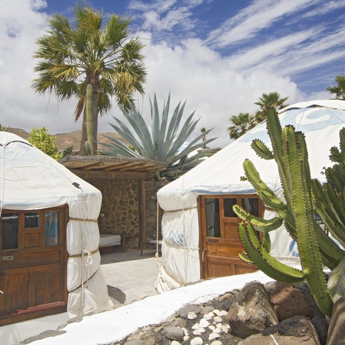 Lanzarote Retreats Twin Yurt