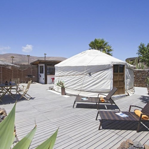Lanzarote Retreats Eco Yurt Garden