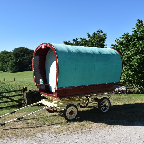 Hoe Grange Gypsy Caravan Location
