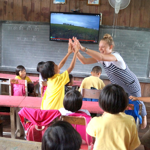 Teaching at Volunt2Thai