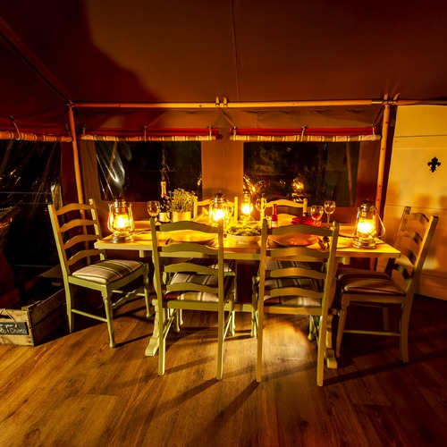 Longlands Tents Dining
