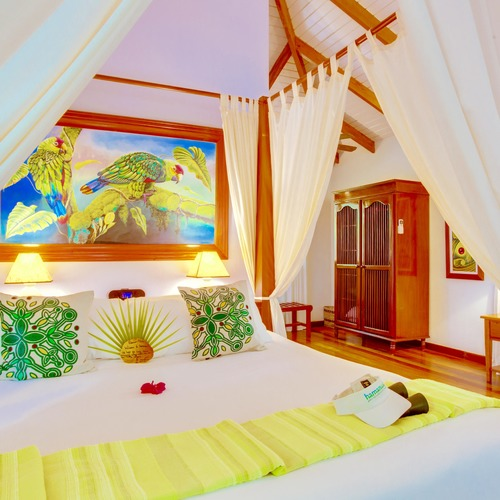 Hamanasi Adventure & Dive Resort Bedrooms