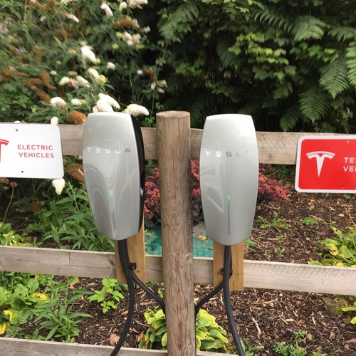 Electric Car Charging Points at Brecon Retreats