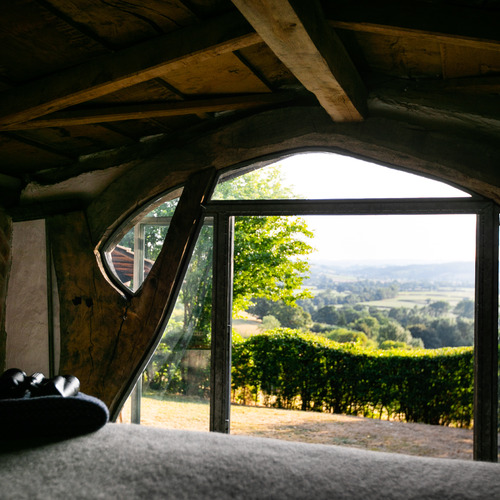 Wake up to stunning views in Sunnylea Sleepout
