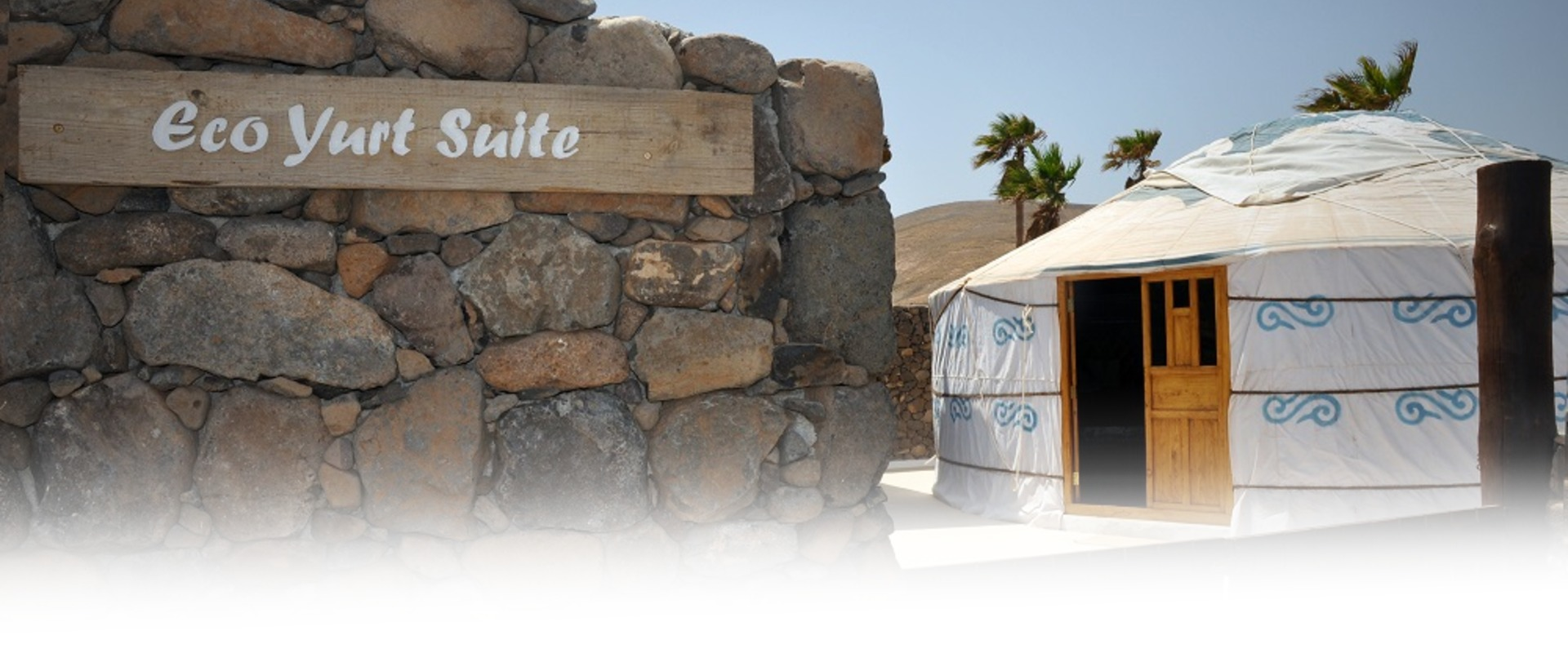 Lanzarote Retreats Eco Twin Yurt Entrance