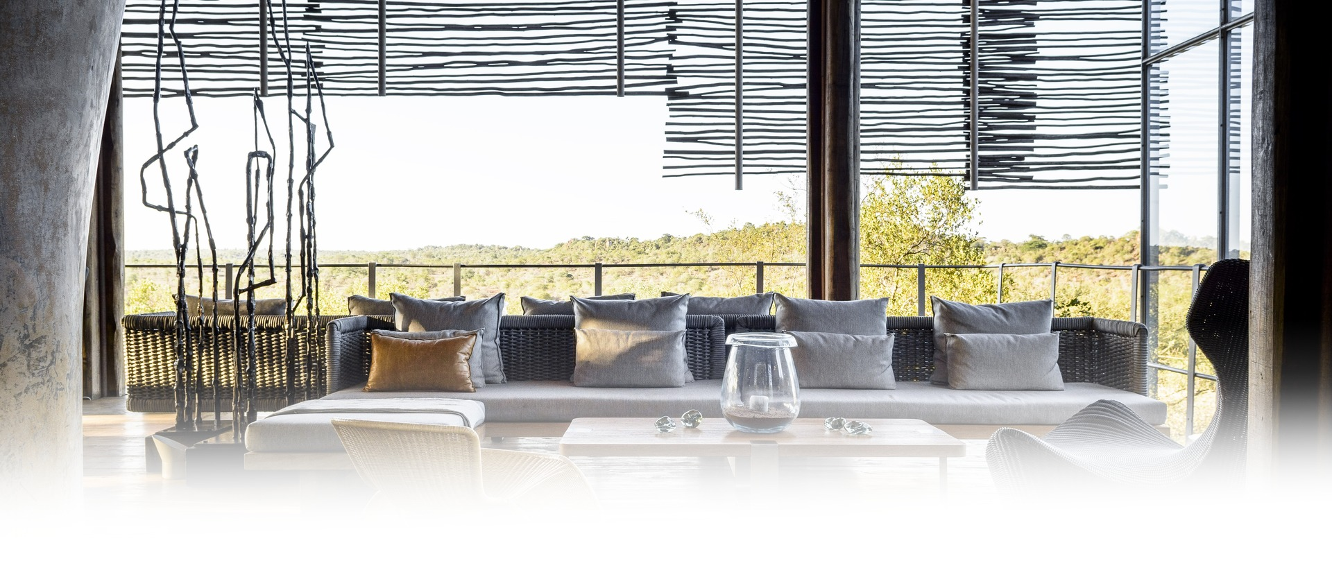 Singita Lebombo Lodge Lounge