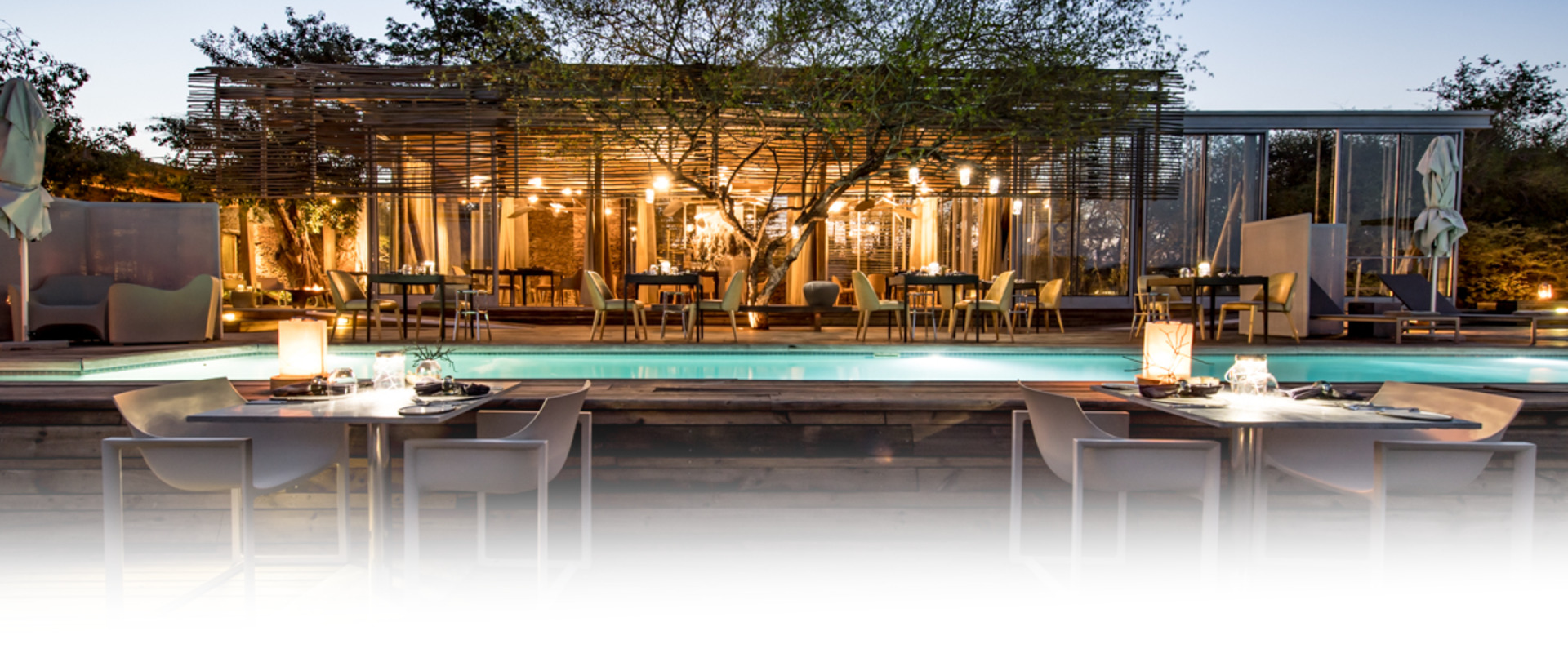 Singita Lebombo Lodge Pool & Dining