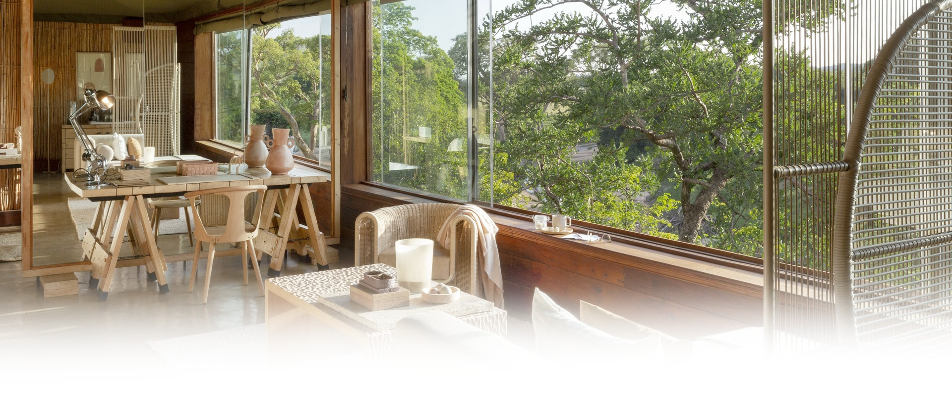 Singita Faru Faru Lodge Lounge