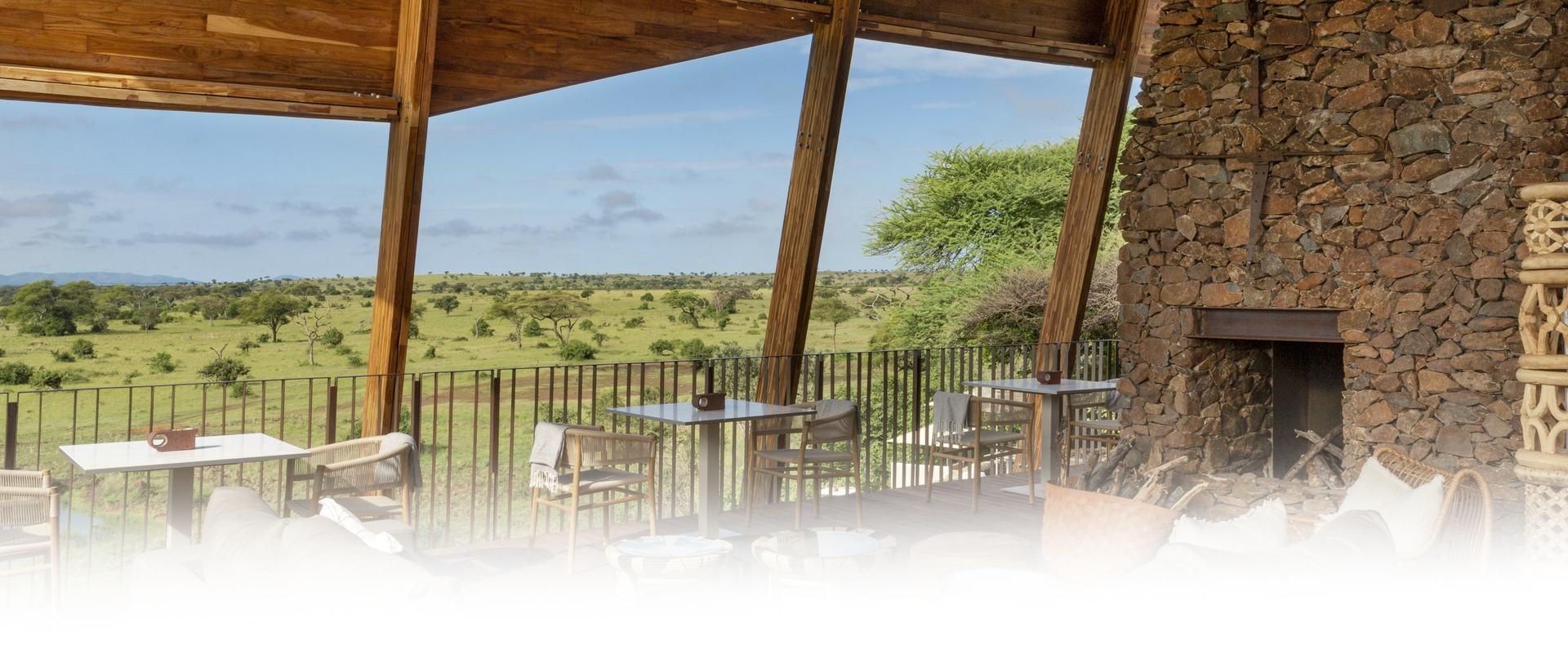 Singita Faru Faru Lodge Deck View