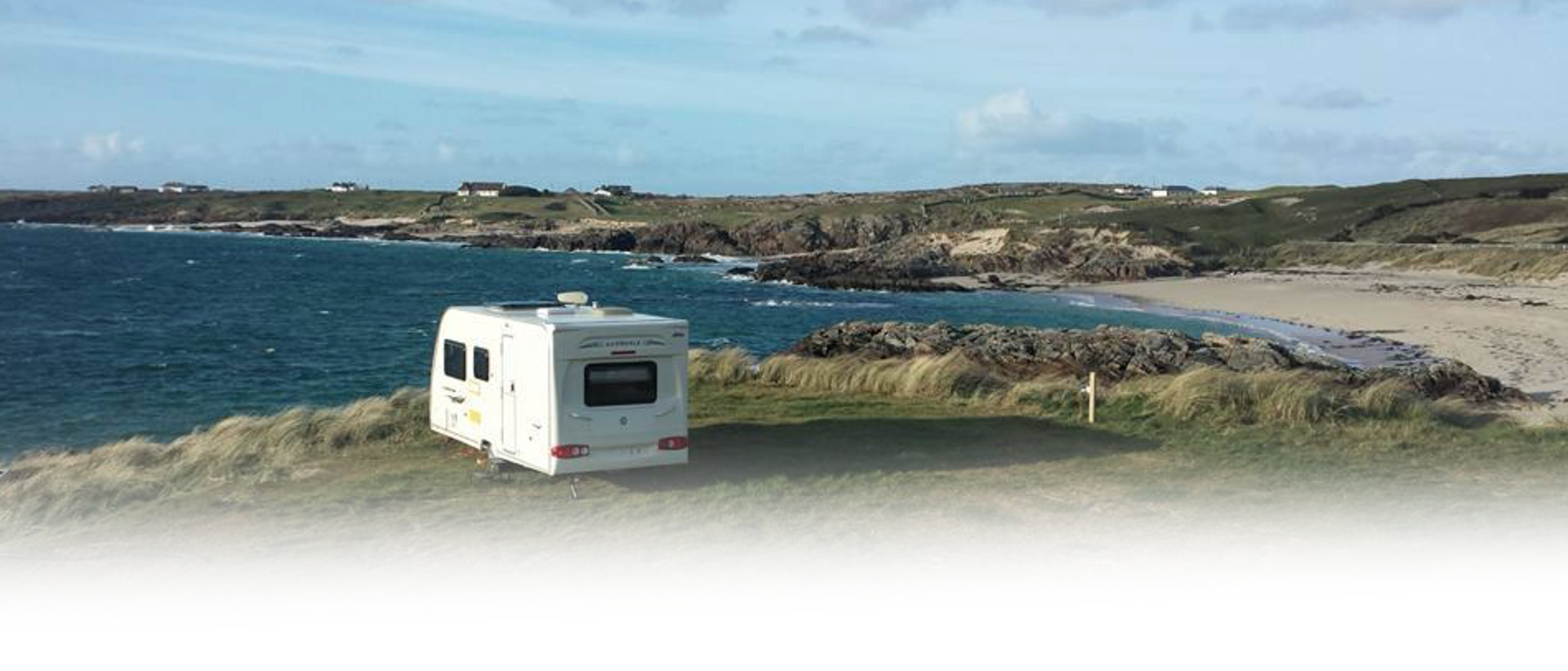 Clifden Eco Beach Caravan Pitch