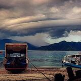Stormy clouds ahoy . . . . . . . . . . #ethicalholiday #lifechangingholidays #Travel #Clouds #Cloud #lenticularclouds #storm #storm #giliislands #gili